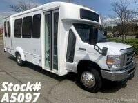 2012 Ford E450 Non-CDL Wheelchair Shuttle Bus For Sale