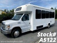 2015 Ford E450 25 Passenger Shuttle Bus For Sale